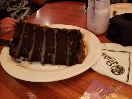 Claim Jumper Cake