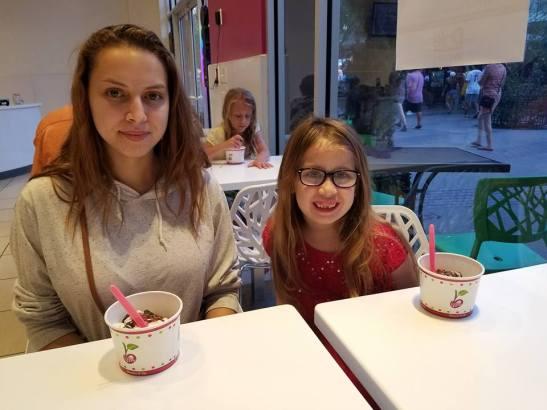 frozen yogurt sonya makaylah